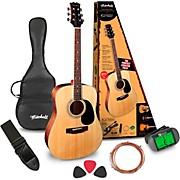 D120PK Acoustic Guitar Value Package Natural