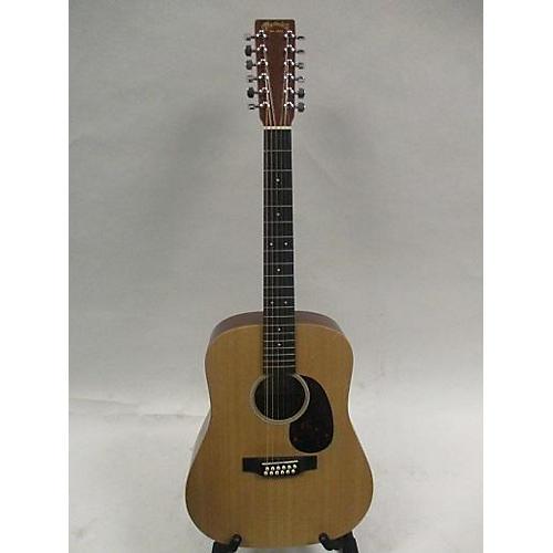 used martin d12x1 12 string acoustic guitar natural guitar center. Black Bedroom Furniture Sets. Home Design Ideas