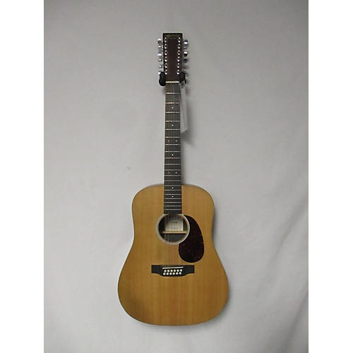 used martin d12x1 12 string acoustic guitar natural guitar center. Black Bedroom Furniture Sets. Home Design Ideas