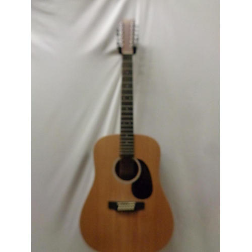 used martin d12x1 custom 12 string acoustic electric guitar natural guitar center. Black Bedroom Furniture Sets. Home Design Ideas