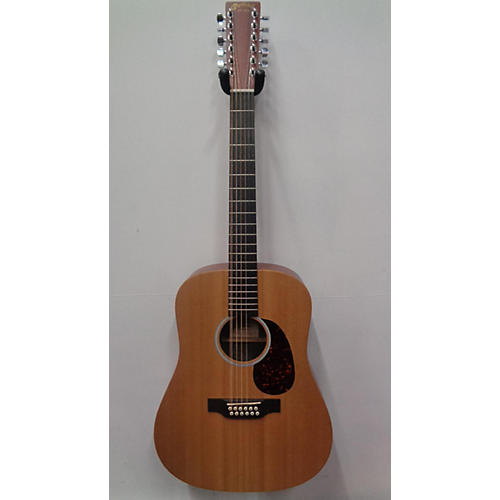 used martin d12x1ae 12 string acoustic electric guitar natural guitar center. Black Bedroom Furniture Sets. Home Design Ideas