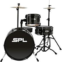 D1316 Lil Kicker 3-Piece Drum Kit With Throne Black