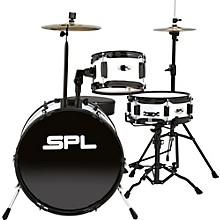D1316 Lil Kicker 3-Piece Drum Kit With Throne White