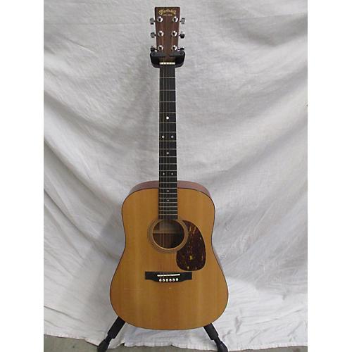 used martin d16gt acoustic guitar natural guitar center. Black Bedroom Furniture Sets. Home Design Ideas