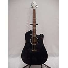 Greg Bennett Design by Samick D1ce-bk Acoustic Electric Guitar