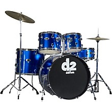 D2 5-piece Drum Set Blue