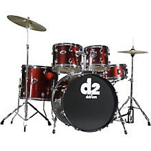 D2 5-piece Drum Set Red