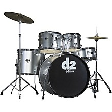 D2 5-piece Drum Set Silver