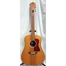 Guild D204 12 String Acoustic Electric Guitar