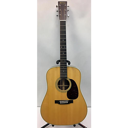 Used Martin D28 Acoustic Guitar Natural Guitar Center
