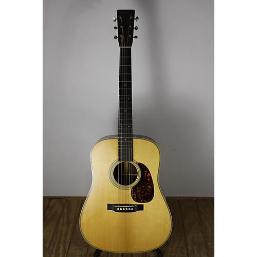 Used Martin D28 Authentic 1937 Reissue Acoustic Guitar Natural
