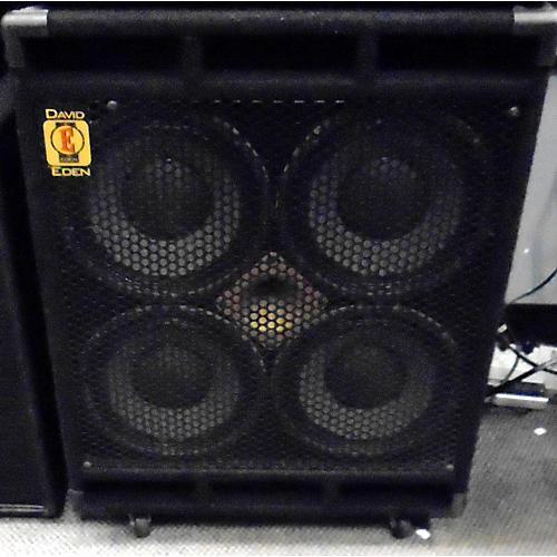 used eden d410xlt 700w 4x10 bass cabinet guitar center rh guitarcenter com Speakers for Sale Hiwatt Bass Cabinets