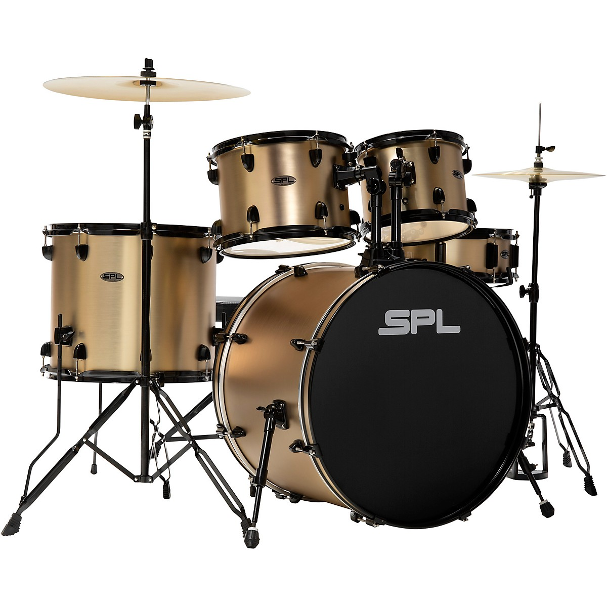 Sound Percussion Labs D4522CPS 5-Piece Champagne Satin Unity Drum Kit