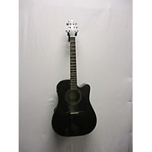 Greg Bennett Design by Samick D4CE/TBK Acoustic Electric Guitar
