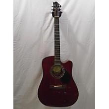 Greg Bennett Design by Samick D4CETR Acoustic Electric Guitar