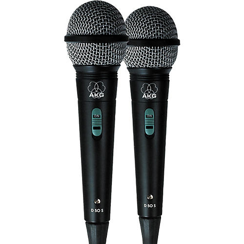 AKG D50S Microphone - Buy Two and Save!!!