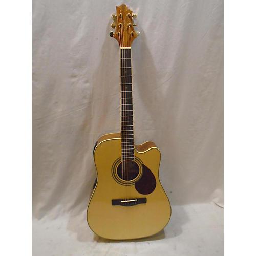 Greg Bennett Design by Samick D6CE Acoustic Electric Guitar