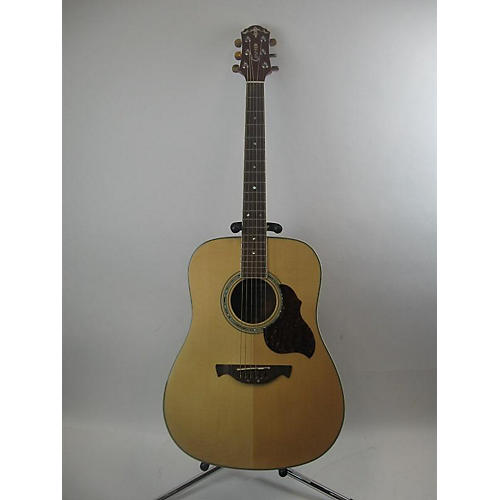used crafter guitars d8 acoustic guitar natural guitar center. Black Bedroom Furniture Sets. Home Design Ideas