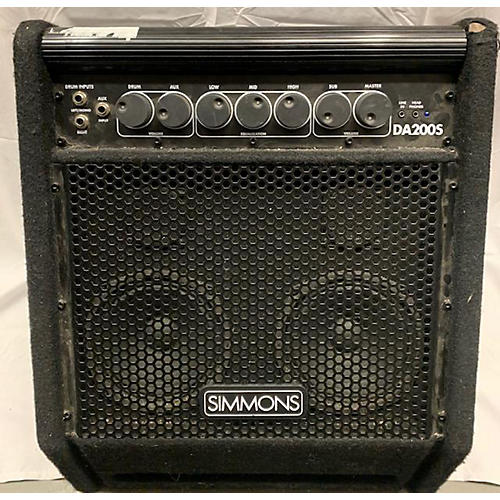 used simmons da200s drum amplifier guitar center. Black Bedroom Furniture Sets. Home Design Ideas