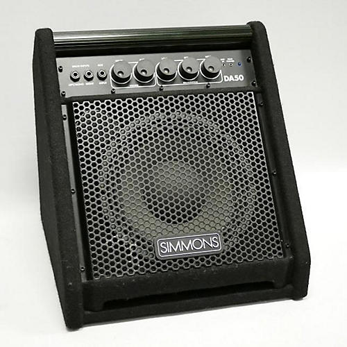 used simmons da50 50w drum amplifier guitar center. Black Bedroom Furniture Sets. Home Design Ideas