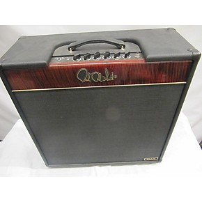 used prs dallas 50 derek trucks 4x10 flame red tube guitar combo amp guitar center. Black Bedroom Furniture Sets. Home Design Ideas