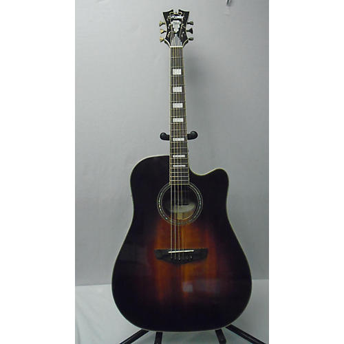 D'Angelico DAPGC10SBG Acoustic Electric Guitar