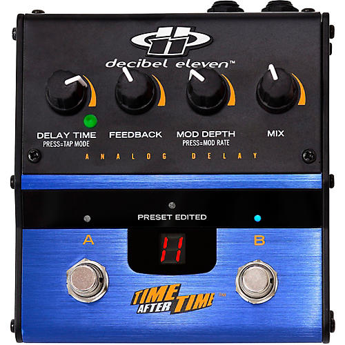 Decibel Eleven DB11-TAT Time after Time Analog Delay Effects Pedal