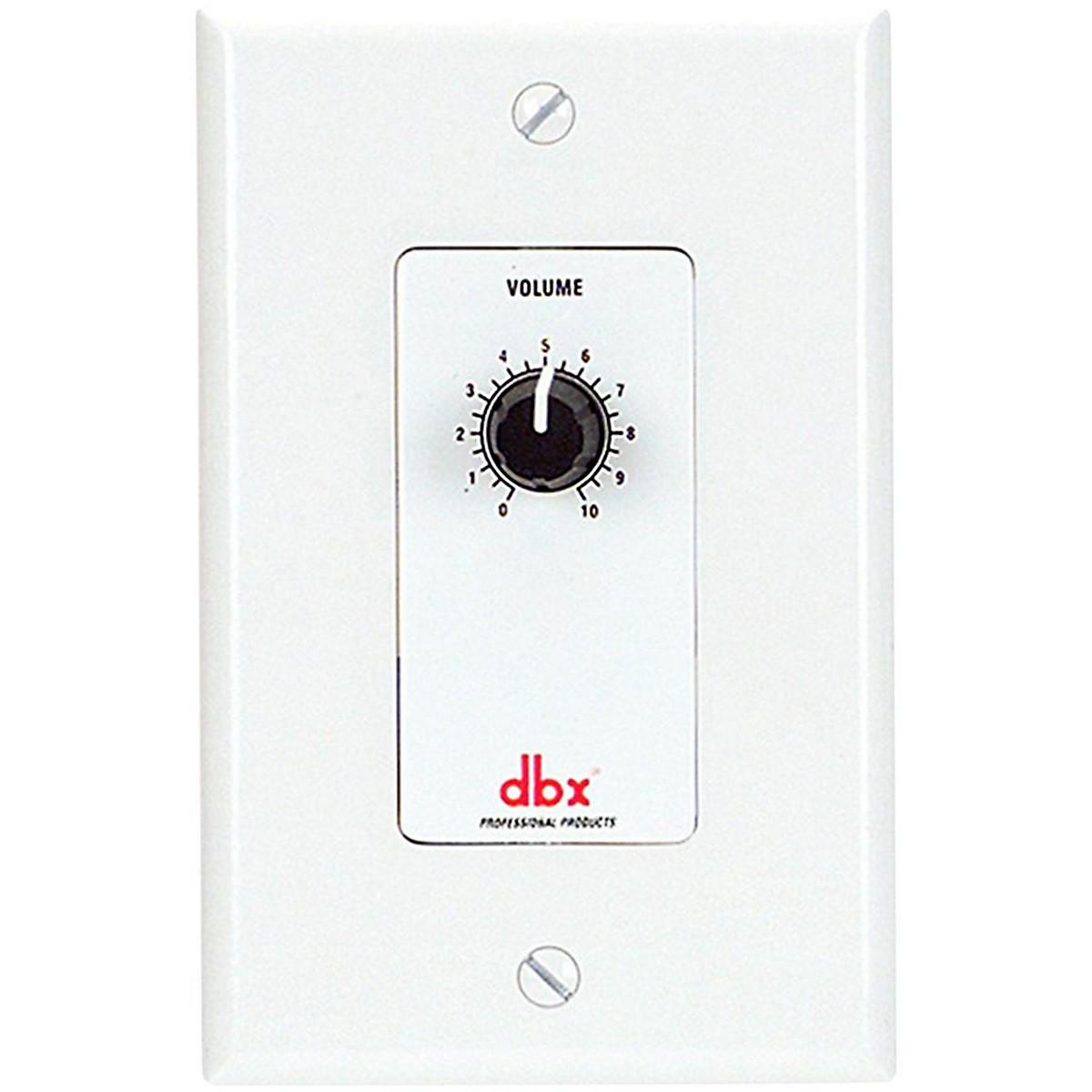 dbx DBXZC1V Wall Mount Zone Control