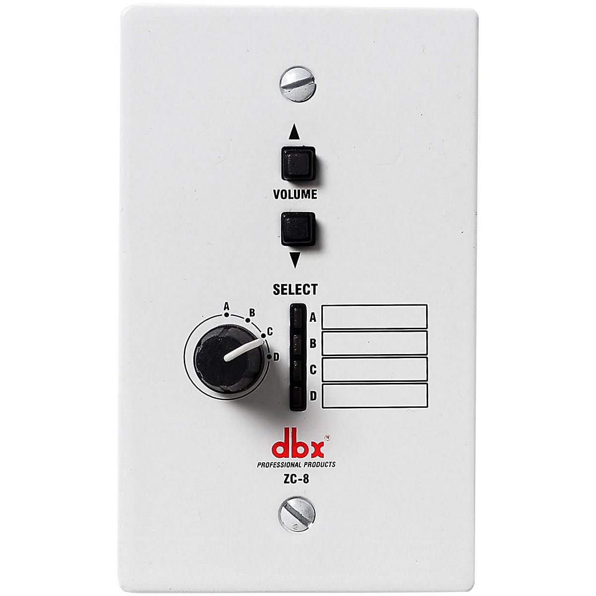 dbx DBXZC8V Wall Mount Zone Volume Control