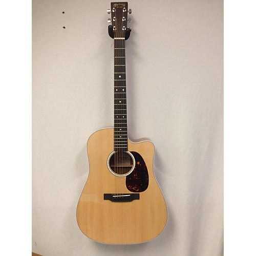 used martin dc13e acoustic electric guitar natural guitar center. Black Bedroom Furniture Sets. Home Design Ideas