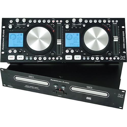 American Audio DCD-Pro 1000 Dual Scratching CD Player