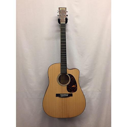 used martin dcpa4 acoustic electric guitar natural guitar center. Black Bedroom Furniture Sets. Home Design Ideas