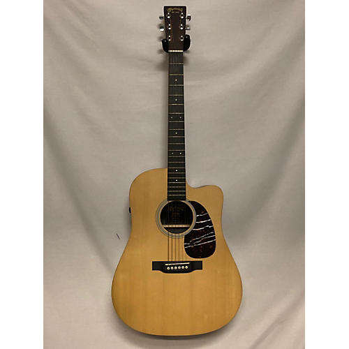 used martin dcpa5 acoustic electric guitar natural guitar center. Black Bedroom Furniture Sets. Home Design Ideas