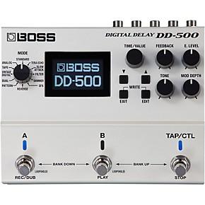 boss dd 500 digital delay guitar effects pedal guitar center. Black Bedroom Furniture Sets. Home Design Ideas