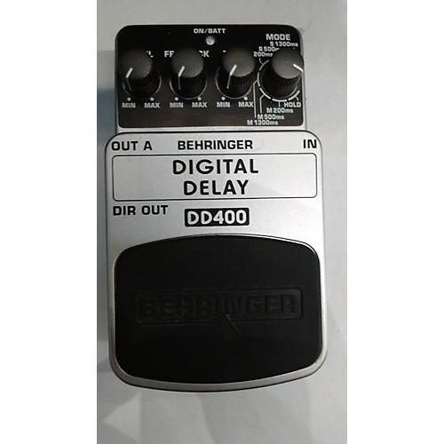 Behringer DD400 Digital Delay Effect Pedal
