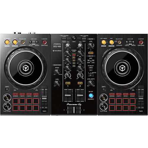 Pioneer DDJ-400 2-Channel DJ Controller for rekordbox dj
