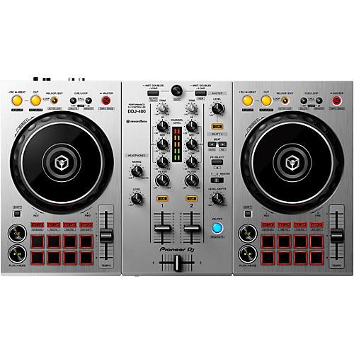 Pioneer DJ DDJ-400-S Limited Edition Silver 2-Channel DJ Controller