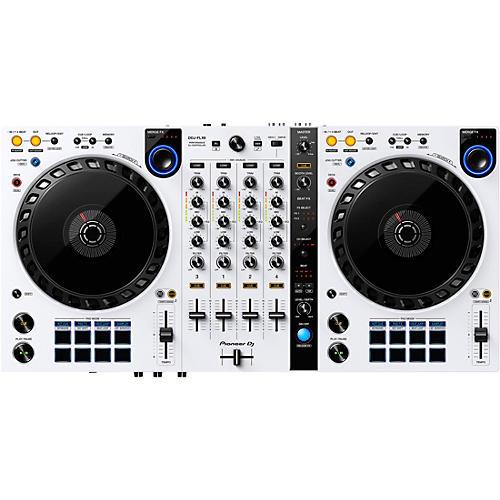 Pioneer DJ DDJ-FLX6-W White 4-Channel DJ Controller for Serato DJ Pro and rekordbox dj