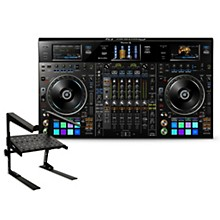 Pioneer DDJ-RZX rekordbox DJ Controller with Laptop Stand