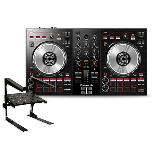 Pioneer DDJ-SB3 Serato DJ Controller with Laptop Stand
