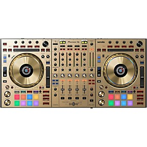 pioneer ddj sz2 gold edition professional dj controller with serato dj guitar center. Black Bedroom Furniture Sets. Home Design Ideas