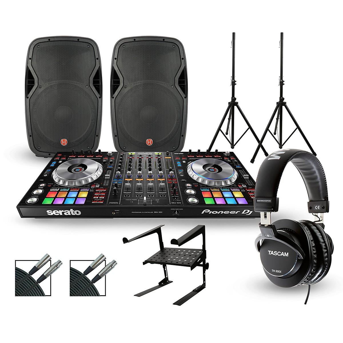 Pioneer DDJ-SZ2 with Harbinger V1015 DJ Package