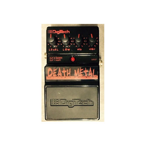 Digitech DDM Death Metal Distortion BLACK AND RED Effect Pedal