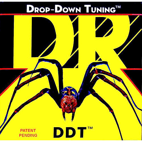 DR Strings DDT-10 Drop Down Tuning Medium Electric Guitar Strings 3-Pack