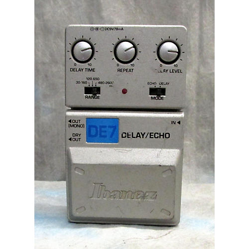 Ibanez DE7 Delay/Echo Effect Pedal