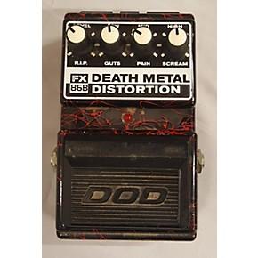 used dod death metal distortion effect pedal guitar center. Black Bedroom Furniture Sets. Home Design Ideas
