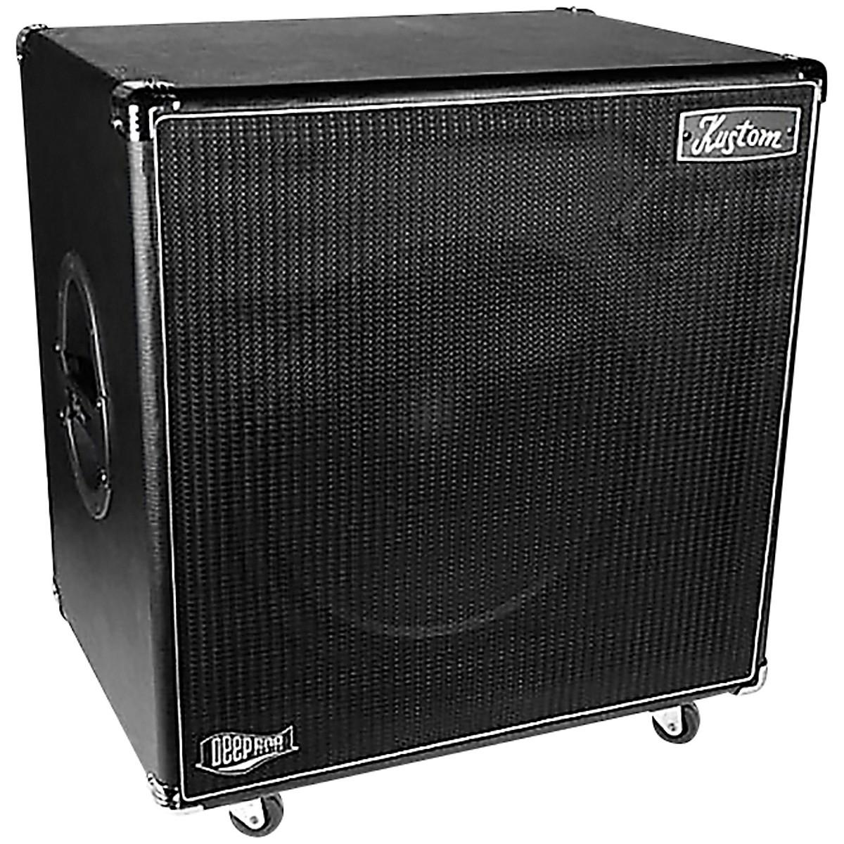 Kustom DEEP115 700W 1x15 Bass Speaker Cabinet