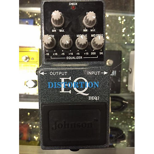 Johnson DEQ2 DISTORTION EQ Effect Pedal