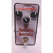 Option 5 DESTINATION MOTORVATION Effect Pedal
