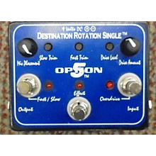 Option 5 DESTINATION ROTATION SINGLE Effect Pedal